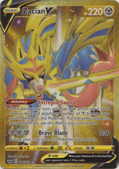 Zacian V - 211/202 - Secret Rare