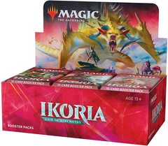 Ikoria: Lair of Behemoths Booster Box (Buy-A-Box Promo & MTG Arena swag bag code included)