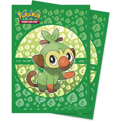 Ultra Pro - Pokemon Grookey Deck Protector Sleeves 65ct
