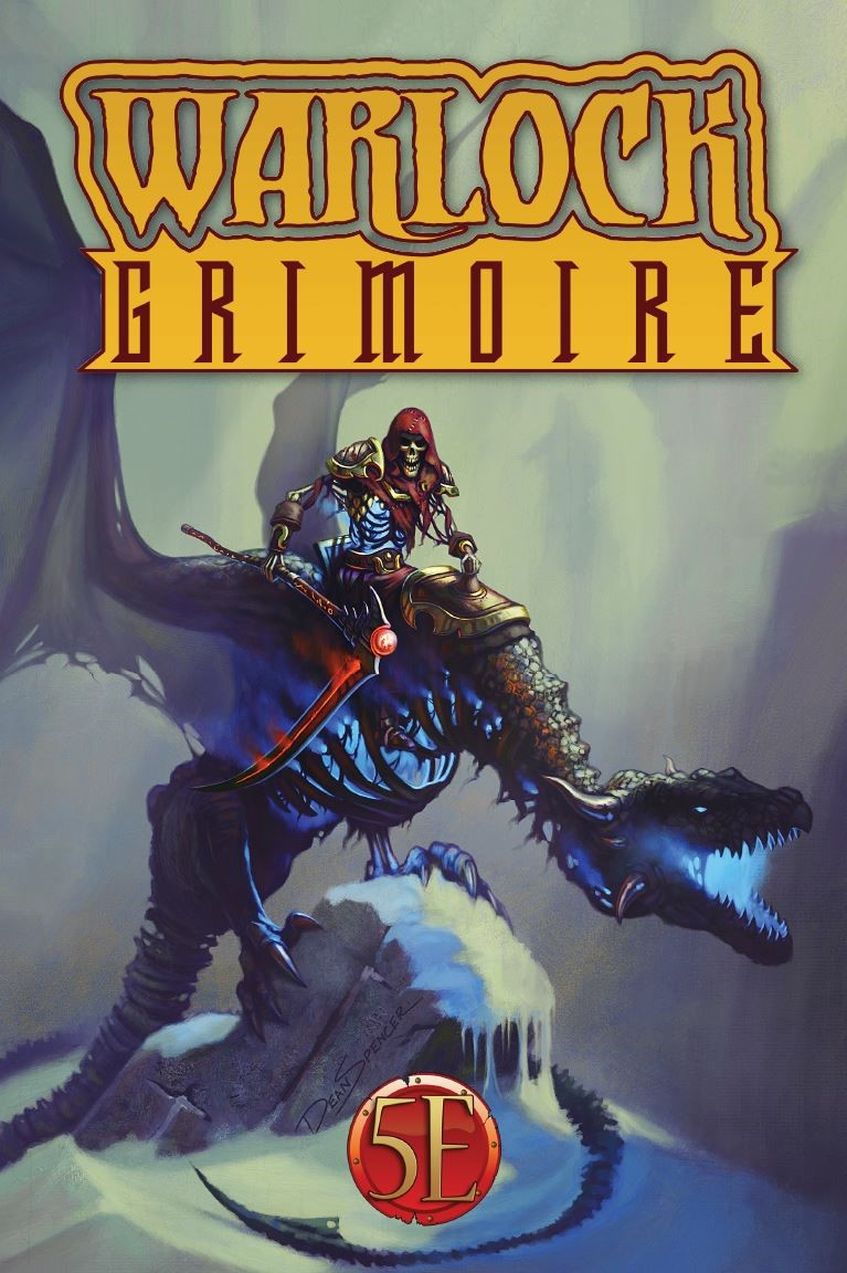 Warlock Grimoire for 5th Edition D&D