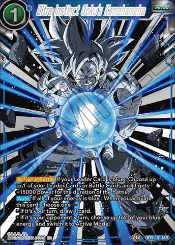 Ultra Instinct Gokus Kamehameha - BT9-131 - IAR