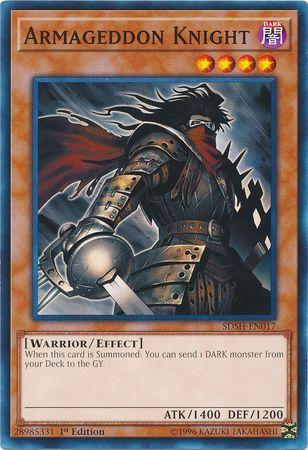Armageddon Knight - SDSH-EN017 - Common - 1st Edition