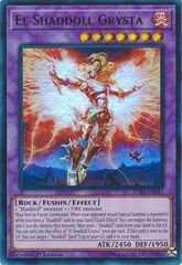 El Shaddoll Grysta - SDSH-EN041 - Ultra Rare - 1st Edition on Channel Fireball