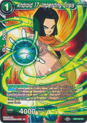 Android 17, Impending Crisis - XD3-04 - ST - Foil