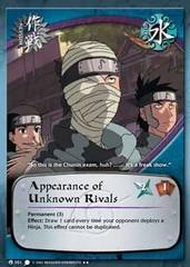 Appearance of Unknown Rivals - M-051 - Rare - 1st Edition - Diamond Foil