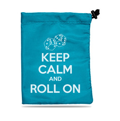 Treasure Nest - Keep Calm and Roll On Dice Accessories Bag