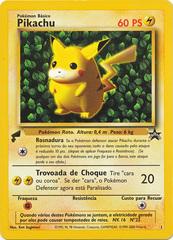 Pikachu - 1 - World Collection - Holo Promo (Portuguese)