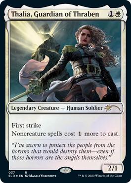 Thalia, Guardian of Thraben (037) - Foil