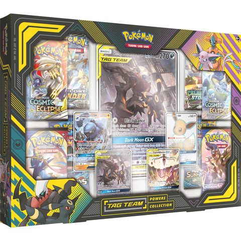 Tag Team Powers Collections - Umbreon & Darkrai GX