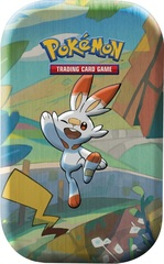 Pokemon Mini Tin - Galar Pals: Scorbunny & Pikachu