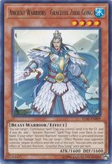 Ancient Warriors - Graceful Zhou Gong - IGAS-EN009 - Rare - Unlimited Edition
