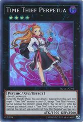 Time Thief Perpetua - IGAS-EN094 - Super Rare - Unlimited Edition