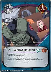 A-Ranked Mission - M-156 - Uncommon - Unlimited Edition - Wavy Foil