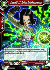 Android 17, Rebel Reinforcements - DB2-005 - R
