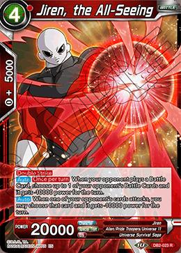 Jiren, the All-Seeing - DB2-023 - R