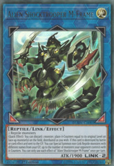 Alien Shocktrooper M-Frame - DUOV-EN003 - Ultra Rare - 1st Edition on Channel Fireball