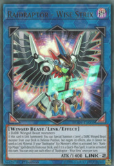 Raidraptor - Wise Strix - DUOV-EN005 - Ultra Rare - 1st Edition