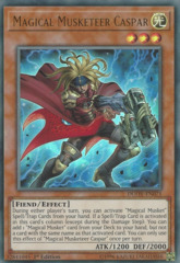Magical Musketeer Caspar - DUOV-EN071 - Ultra Rare - 1st Edition