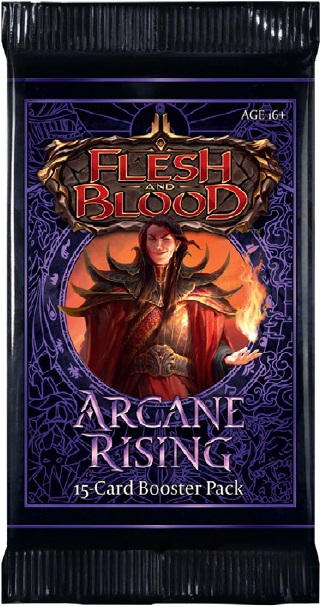 Flesh and Blood: Arcane Rising Booster Pack (Unlimited Edition)