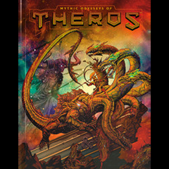 5th  Edition - Mythic Odysseys of Theros (Alternate Cover)