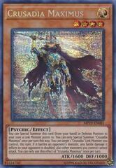 Crusadia Maximus - MP19-EN081 - Prismatic Secret Rare - Unlimited Edition