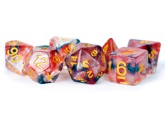 Unicorn Phoenix Ash 16mm Poly Dice Set