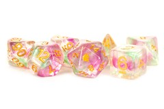 Unicorn Celestial Blossom 16mm Poly Dice Set