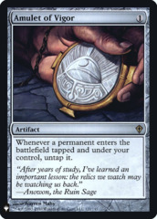 Amulet of Vigor - Foil (Mystery Booster)