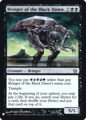 Bringer of the Black Dawn - Foil