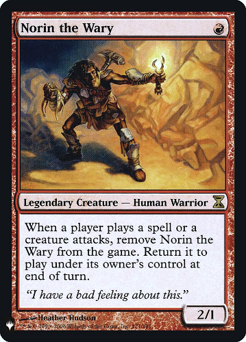 Norin the Wary - Foil