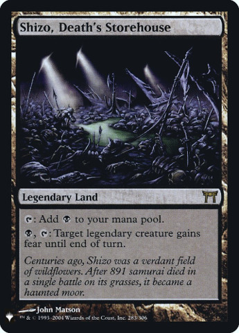 Shizo, Deaths Storehouse - Foil