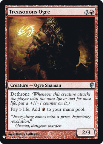 Treasonous Ogre - Foil