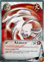 Akamaru - N-242 - Common - 1st Edition - Wavy Foil