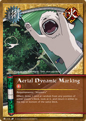 Aerial Dynamic Marking - J-218 - Common - Unlimited Edition - Diamond Foil