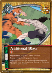 Additional Blow - J-US049 - Common - Unlimited Edition - Diamond Foil