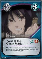 Ache of the Curse Mark - M-313 - Common - 1st Edition - Foil