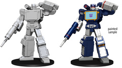 TRANSFORMERS: WIZKIDS UNPAINTED MINIS - SOUNDWAVE