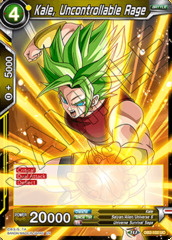 Kale, Uncontrollable Rage - DB2-102 - UC