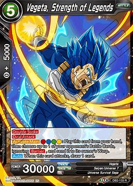 Vegeta, Strength of Legends - DB2-133 - R