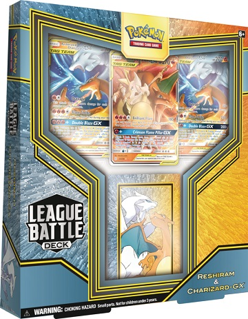 League Battle Decks - Reshiram and Charizard GX
