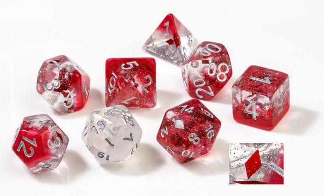 Dice Set - Diamonds