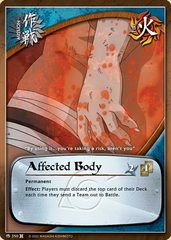Affected Body - M-350 - Common - Unlimited Edition - Foil
