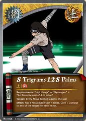 8 Trigrams 128 Palms - J-343 - Rare - Unlimited Edition