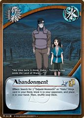 Abandonment - M-341 - Uncommon - Unlimited Edition - Foil
