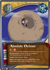 Absolute Defense - J-414 - Uncommon - Unlimited Edition - Foil
