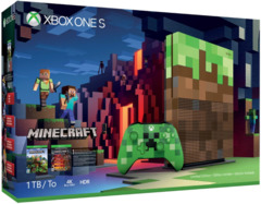 Xbox One S 1 TB Console - Minecraft Limited Edition