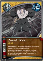 Assault Blade - J-464 - Rare - Unlimited Edition - Foil