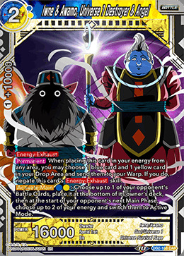 Iwne & Awamo, Universe 1 Destroyer & Angel - DB2-168 - DAR