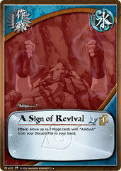 A Sign of Revival - M-472 - Uncommon - Unlimited Edition