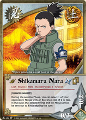 Shikamaru Nara - N-634 - Super Rare - Unlimited Edition - Foil